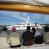 Newport, Rhode Island sailing on the Madeline