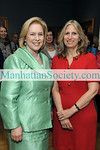 "NEW YORK-MAY18: U.S. Senator Kirsten E. Gillibrand and N-YHS President & CEO Dr. Louise Mirrer  attend New-York Historical Society's 2009 Strawberry Festival Benefit Luncheon honoring U.S. Senator Kirsten E. Gillibrand""on Monday, May 18, 2009 at New-York Historical Society, 170 Central Park West at 77th Street, New York City, NY  (Photo Credit: ©Gregory Partanio/ManhattanSociety.com)"