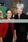 """NEW YORK-MAY18: Alexandra Lebenthal, Michelle Smith attend New-York Historical Society's 2009 Strawberry Festival Benefit Luncheon honoring U.S. Senator Kirsten E. Gillibrand""""on Monday, May 18, 2009 at New-York Historical Society, 170 Central Park West at 77th Street, New York City, NY  (Photo Credit: ©Gregory Partanio/ManhattanSociety.com)"""