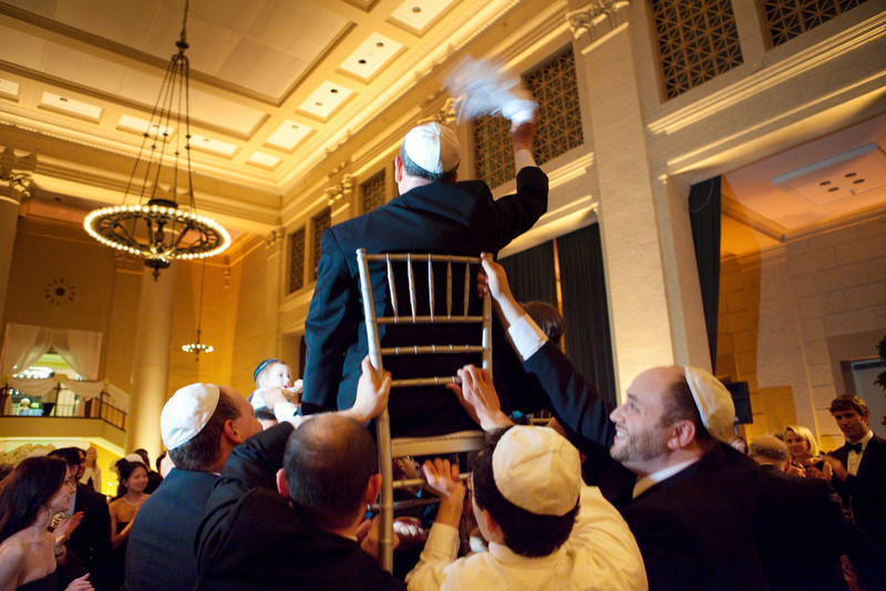 yael father hoisted chair