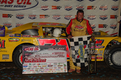Don O'Neal in Victory Lane @ North Alabama Speedway
