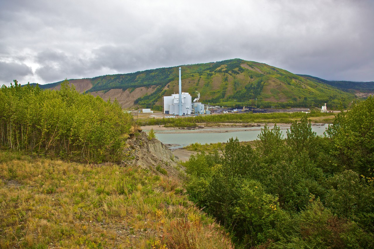 The Healy Clean Coal Power Plant in central Alaska.
