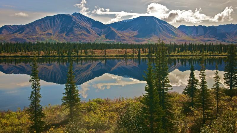 Hills in Alaska.