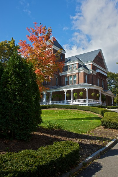 The New York State Governor's mansion.
