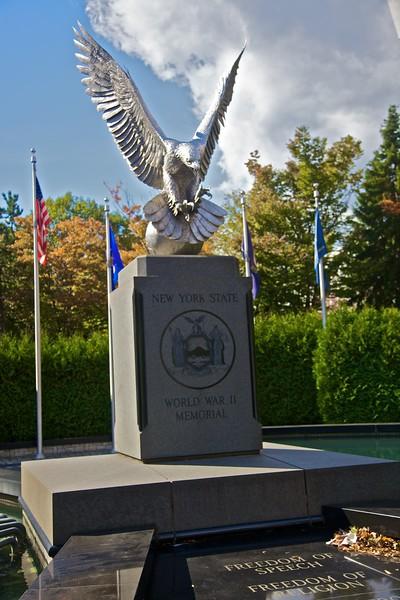 The New York State World War II memorial