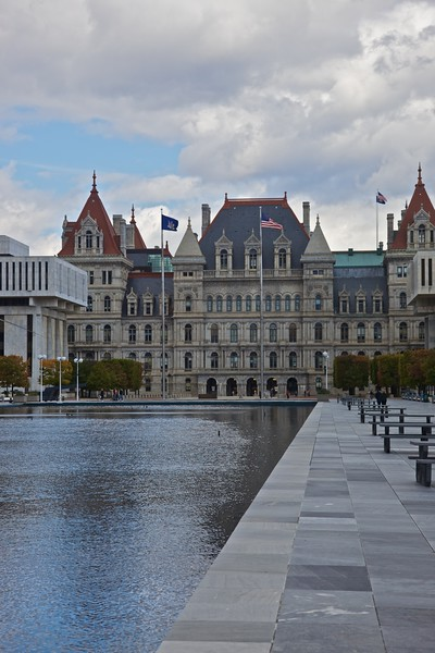 The New York Capitol.