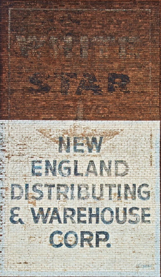 More remnant wall-painted advertising.