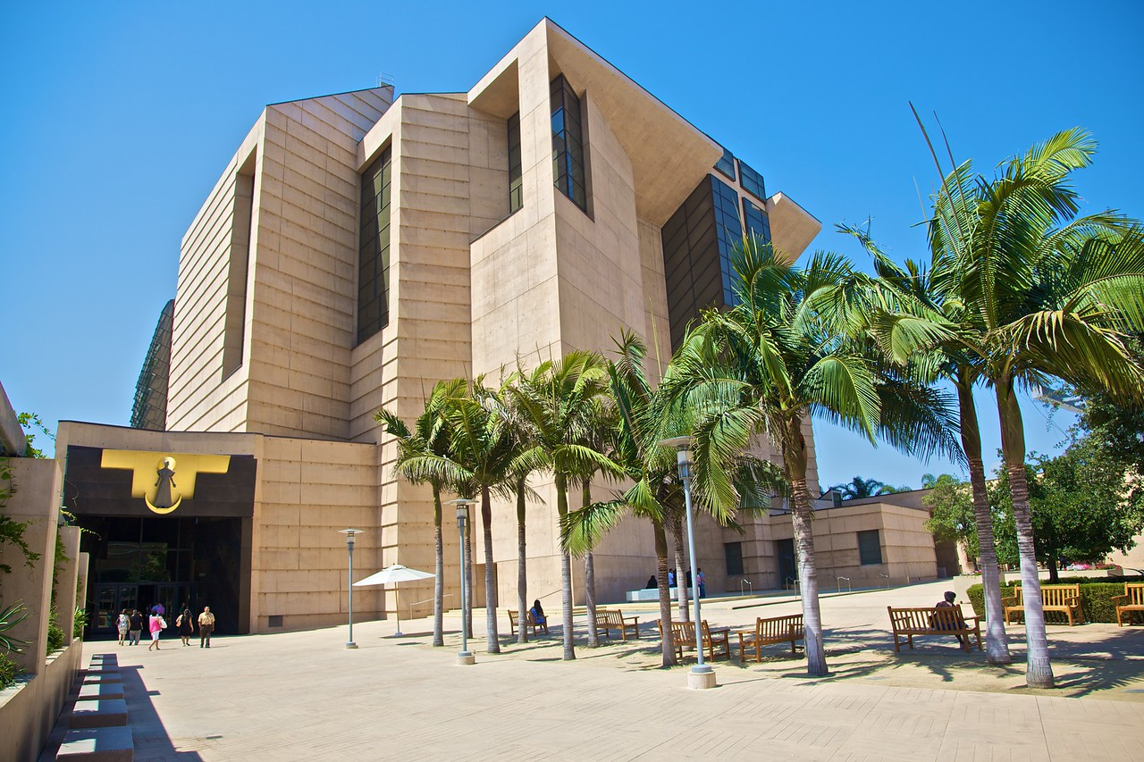 The cathedral of Our Lady of the Angels in Los Angeles. No, really.