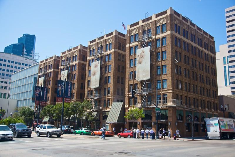 A brick building in San Diego.