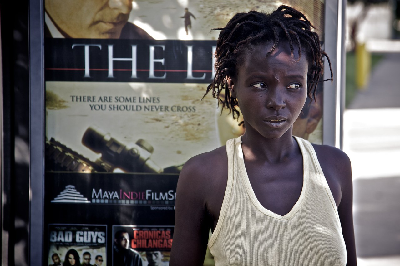 This homeless girl in Miami really wanted me to take her photo, and assured me that she would be available at short notice for any photo-shoots I had planned.