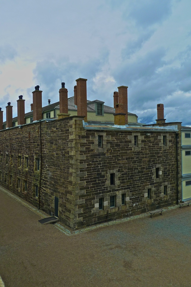 The main building of the Halifax Citadel.