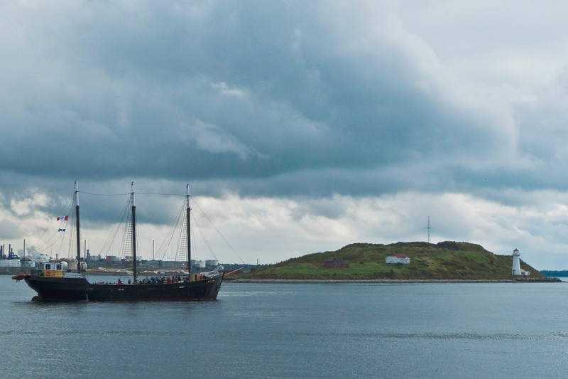 A boat on Halifax Harbour.