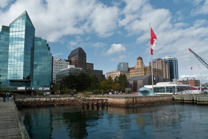 Halifax water-front.