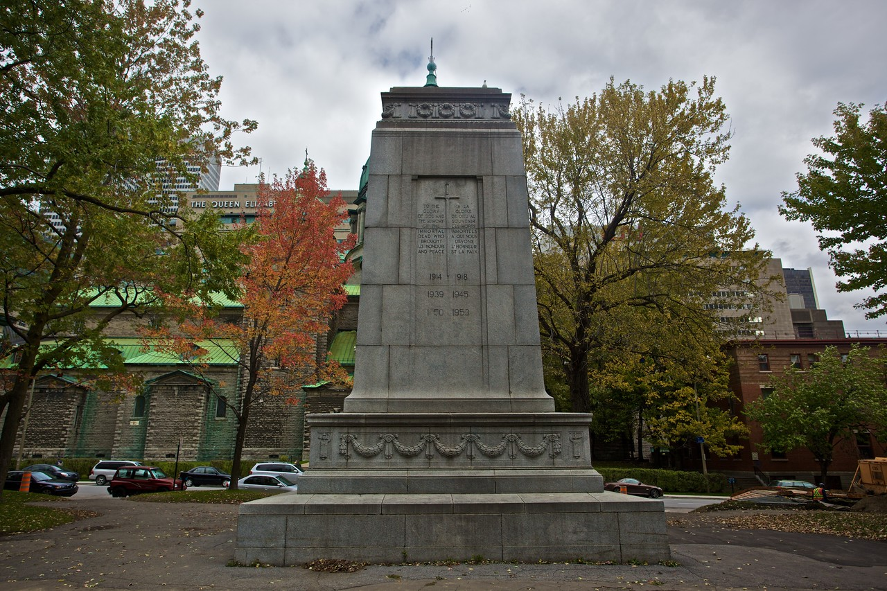 War memorial, Montreal.