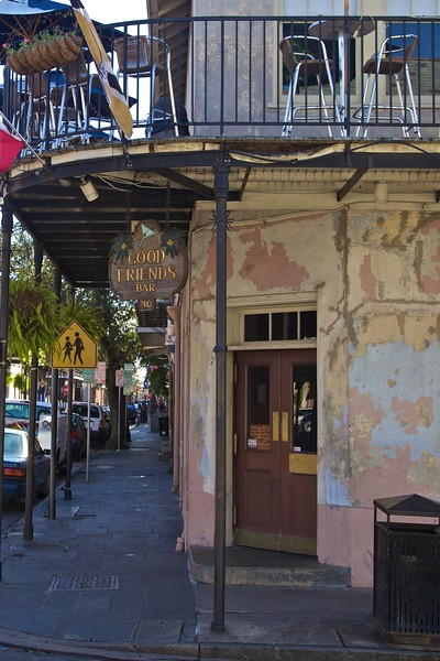 A bar in New Orleans.