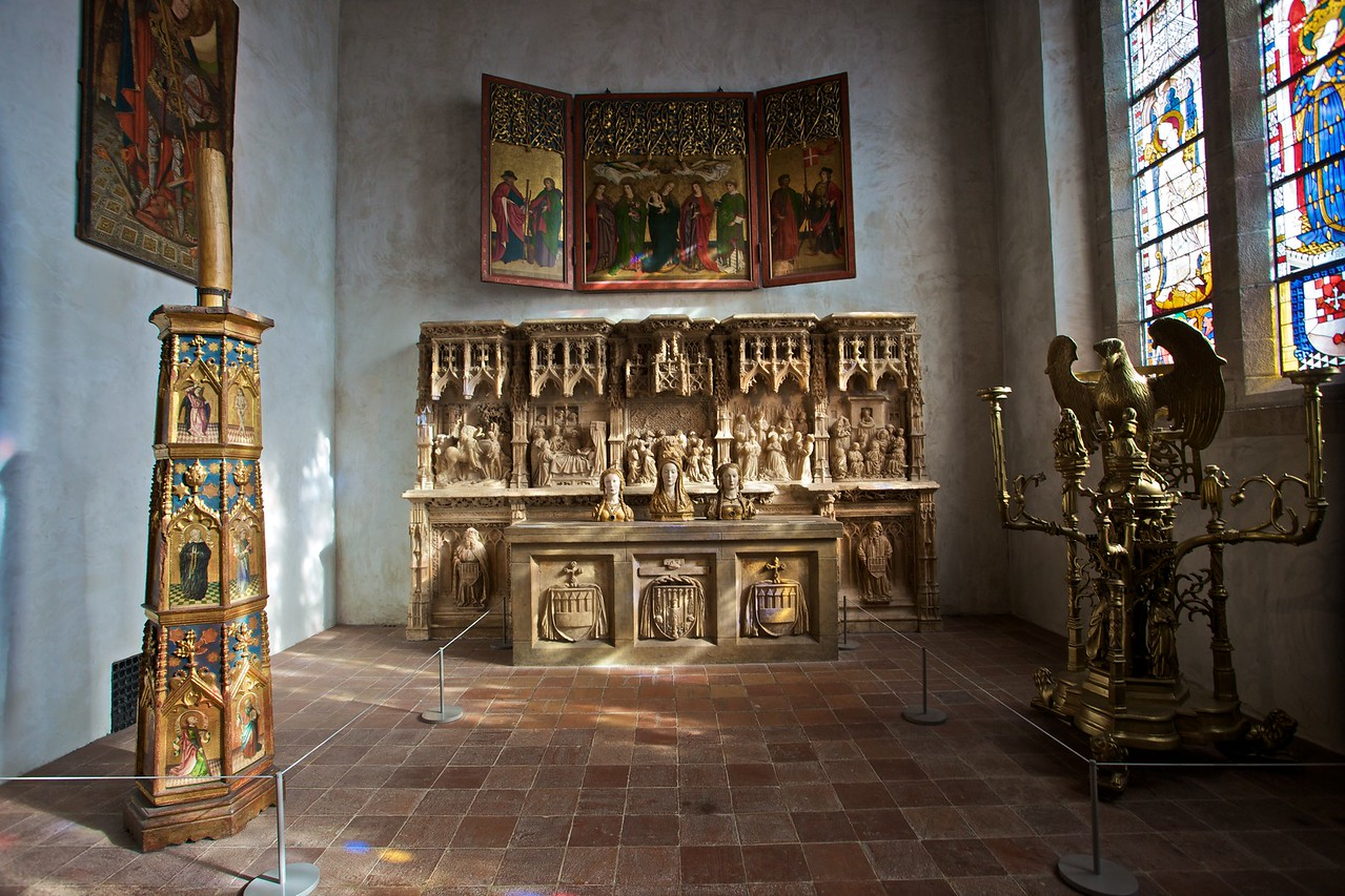 A chapel in the Cloisters. (Cloisters)