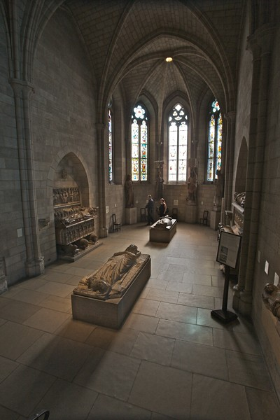 The Gothic chapel of the Cloisters. (Cloisters)