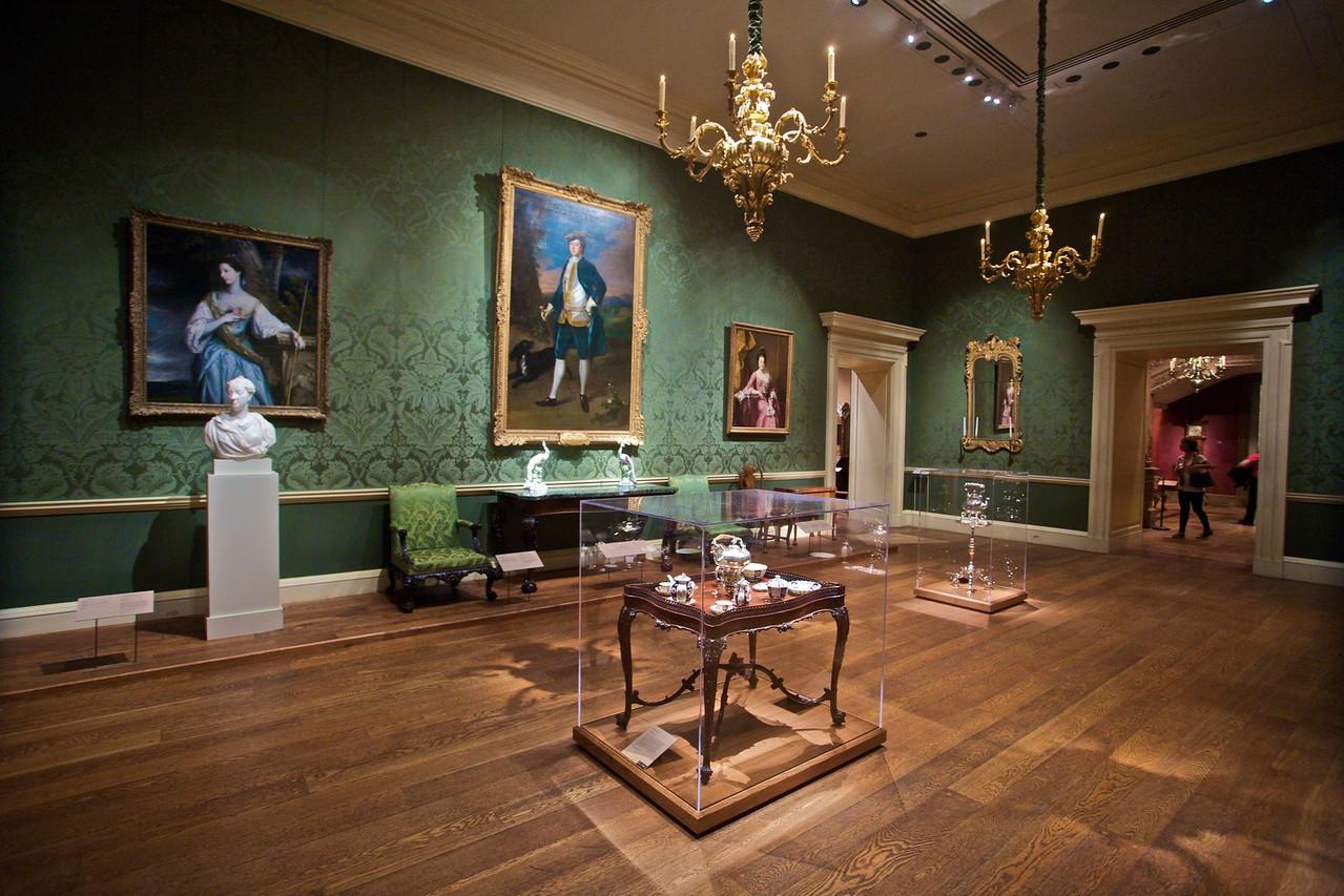 Inside the Met.