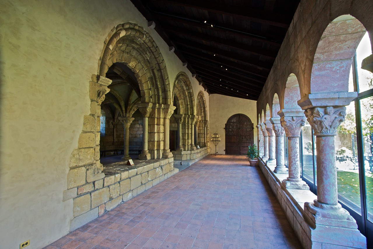 One of the cloisters in the Cloisters. (Cloisters)