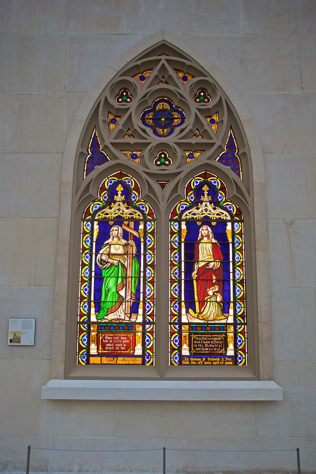 'Miriam and Jubal' (1843–8) by Wlliam Jay Bolton (1816–84) and John Bolton (1818–98), from the church of St Ann and the Holy Trinity in Brooklyn. (Met.)