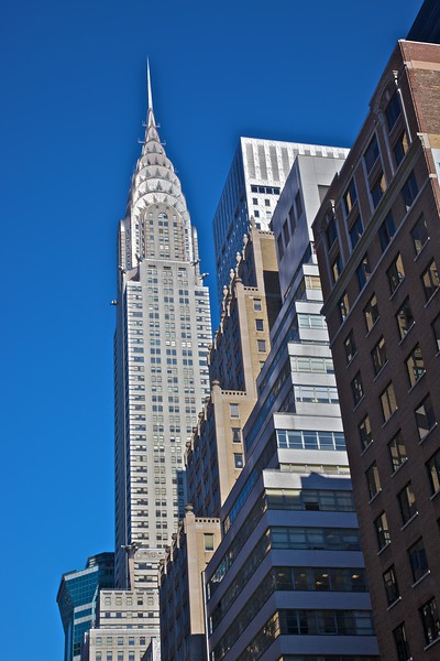The Chrysler building.