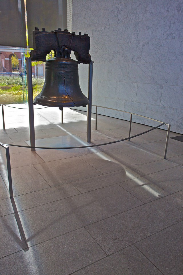 The Liberty Bell is perhaps most famous for its crack, though no one is certain of how it came to be cracked.