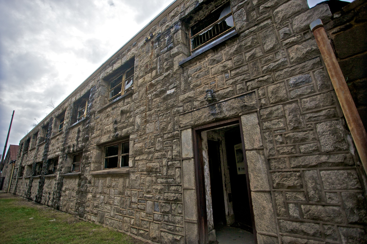 Part of the East State Penitentiary.