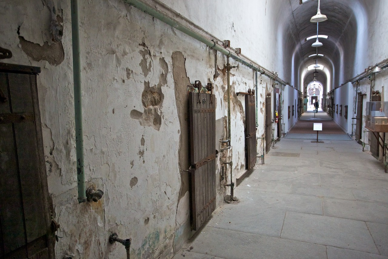One of the wings in the East State Penitentiary.