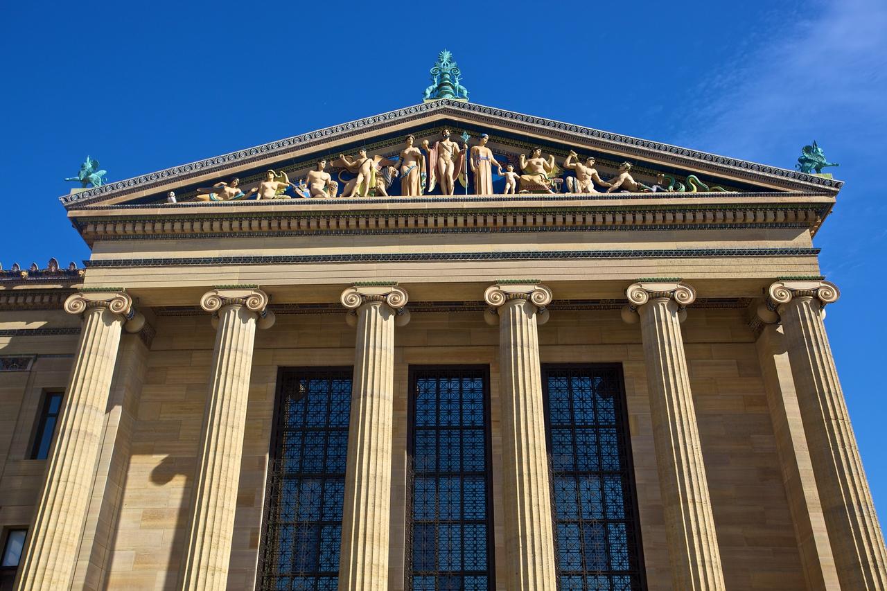 Part of the Philadelphia Museum of Art.