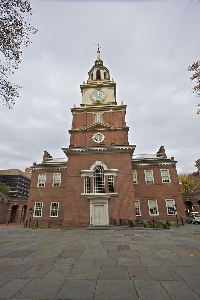 Independence Hall, Philadelphia.