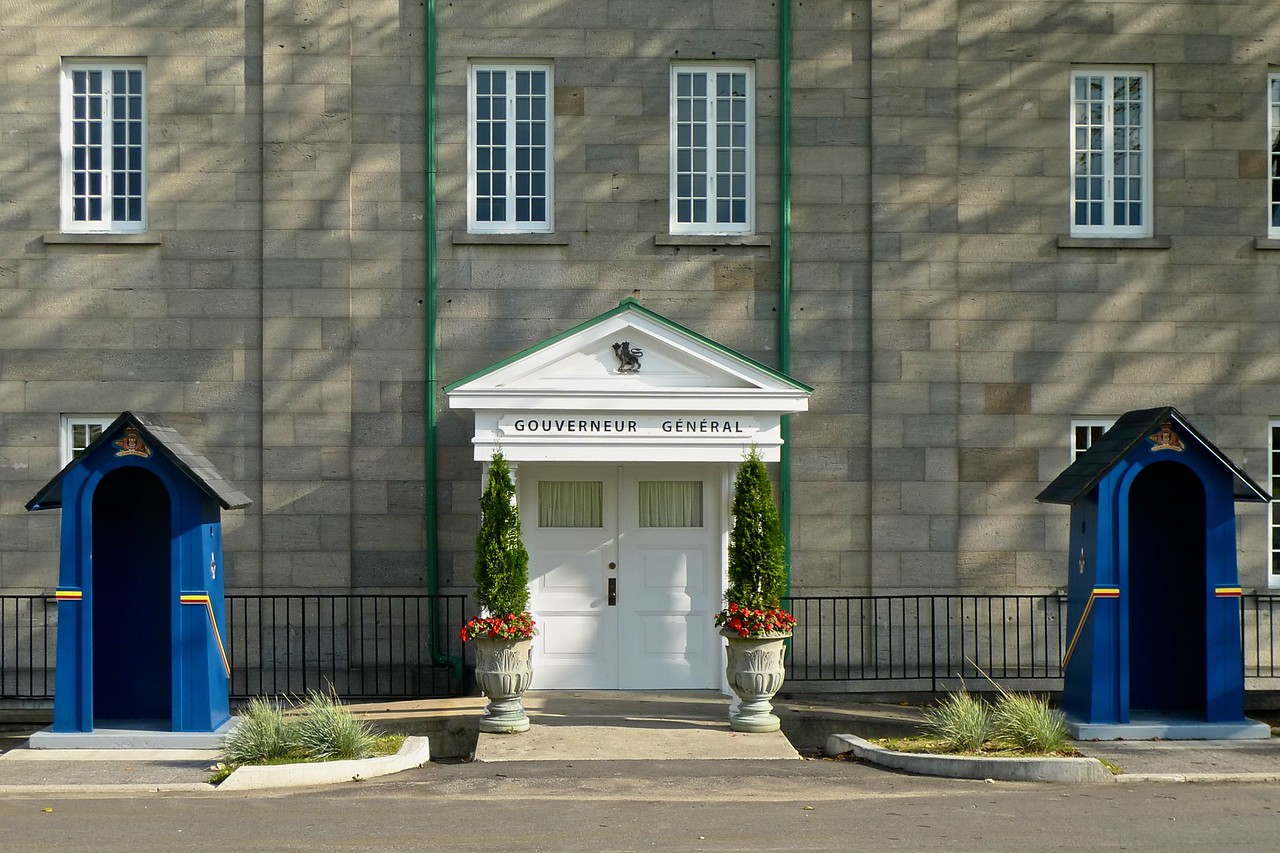 One of two official residences of the Governor General of Canada, in the Quebec Citadel. The other is Rideau Hall in Ottawa.