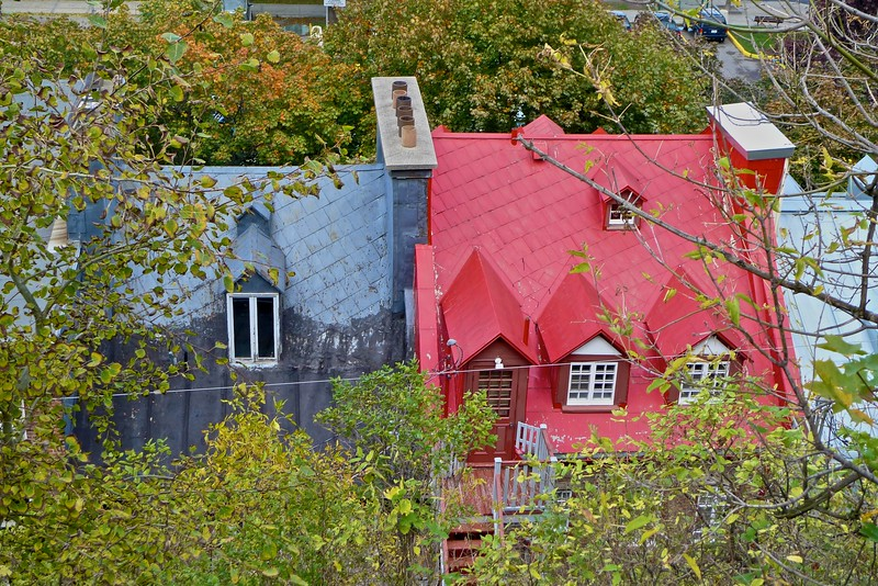 Houses in Lower Quebec.