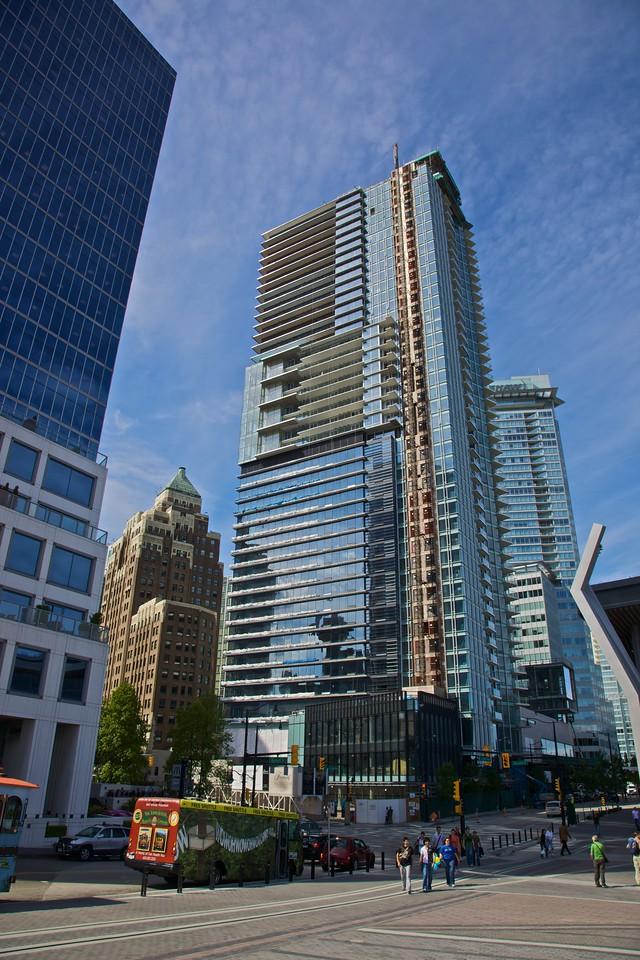 Buildings in Vancouver.