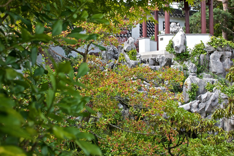Inside the Dr Sun Yat-Sen Classical Chinese Garden in Vancouver.