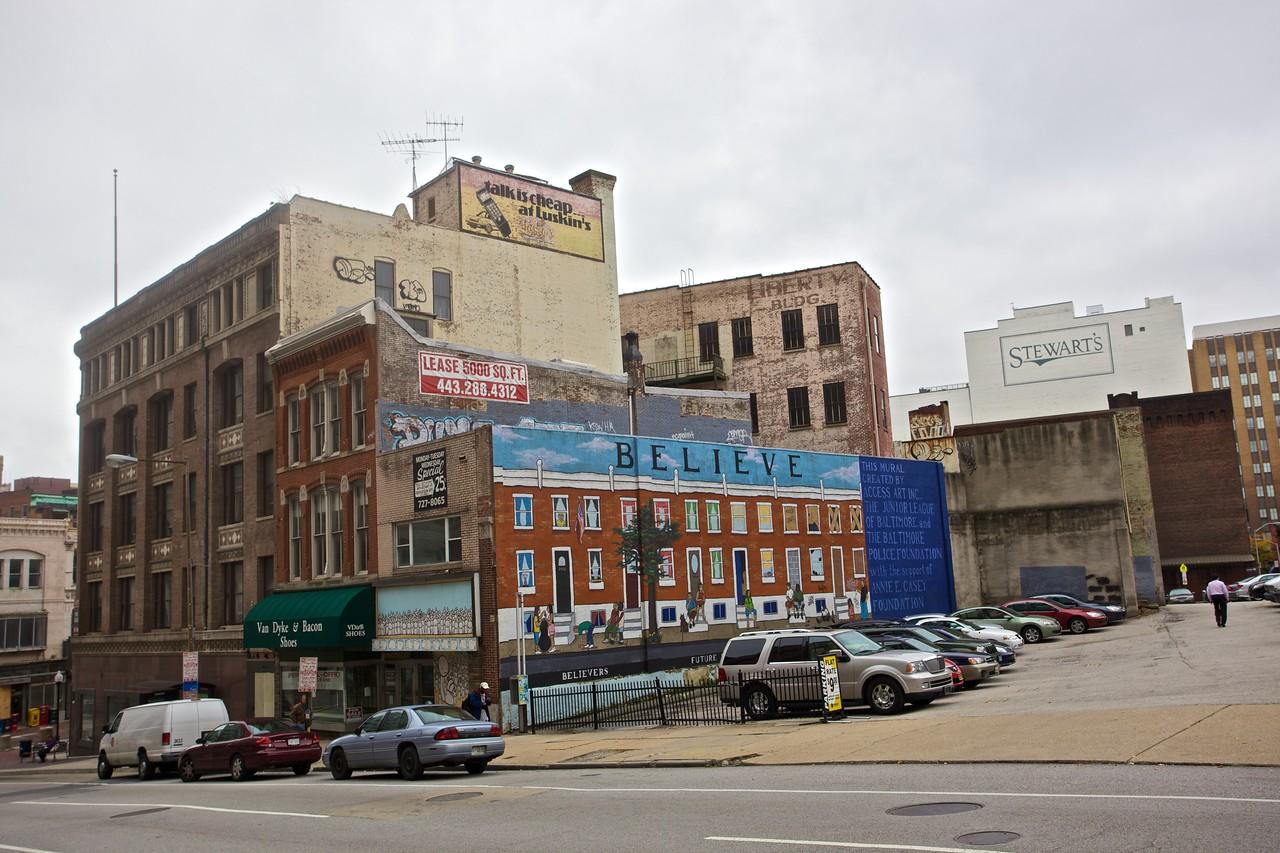 Baltimore in microcosm.