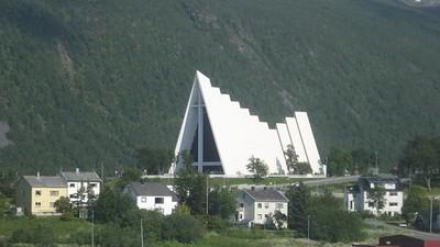 Arctic Cathedral in Tromso - Andrew Gossen