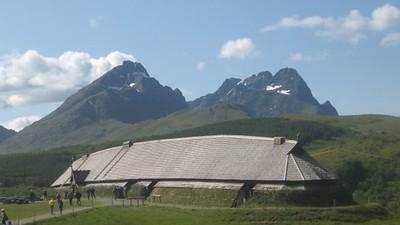 Viking longhouse museum in Stamsund - Andrew Gossen