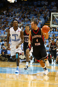 GWU's Grayson Flittner dominated the game with the most points on the scoreboard.