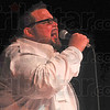 Wabash Valley's Got Talent contestant Rich Conley performs during Friday night's competition at the Indiana Theater.