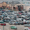 Tribune-Star/Joseph C. Garza<br /> Every spot full: The cars of shoppers fill nearly every parking space in the parking lot at Honey Creek Mall Friday around 9 a.m.