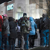 Tribune-Star/Joseph C. Garza<br /> Not too early for these shoppers: Kohl's patrons stand in line at around 3:59 a.m. to wait for the opening of the store at 4 a.m. Friday.