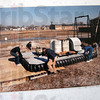 Photo detail: Photo of a previous hovercraft lifting device built to move air conditioning units on top of a steel building.