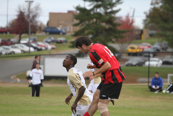 The GWU Bulldogs host the Big South Tournament on November 13., GWU men's Soccer faced the Winthrop Eagles in the first round of the Big South Soccer Tournament in Boiling Springs, NC on Friday, November 13, 2009. The Runnin' Bulldogs lost in overtime to penaly kicks.
