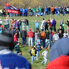 Fans: Hundreds of spectators line the course watching the 2009 State Cross Country Finals Saturday afternoon.