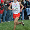 Chase: Terre Haute North's #239, Milton Brinza chases the leaders during Saturday's State Cross Country Finals.