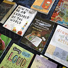 Healing: Detail photo of books used by Zann Carter.