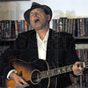 Song: Tom Roznowski plays a song by Hoagie Carmichael during his presentation at the Vigo Co. Public Library Saturday evening.