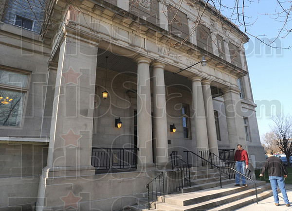 Masonic Temple: The Terre Haute Masonic Temple is located at 224 N. 8th Street.