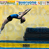Tribune-Star/Joseph C. Garza<br /> Tumbling to Russia: Eleven-year-old Hannah Nowak refines her tumbling technique during practice Thursday at Tumbling Express in Washington. Nowak and teammate, Madi Webster of Odon, will travel to St, Petersburg, Russia to compete in the World Age Group Games.