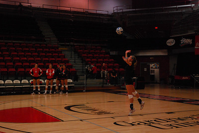 The Gardner-Webb Volleyball team takes down Coastal Carolina on November 14th with a score of 3-1.